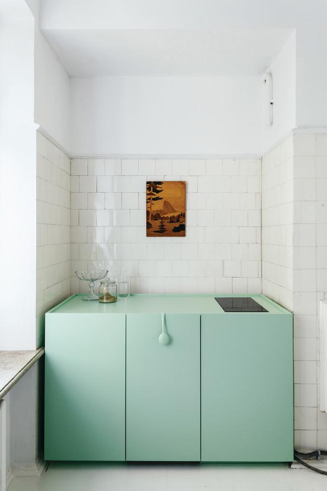 мятная кухня ниша