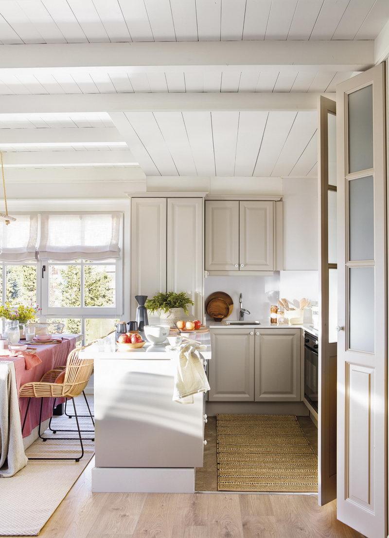 красивая кухня-гостиная